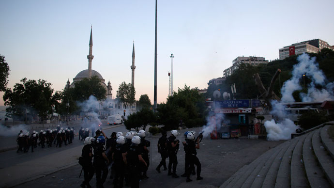 'Turkish govt not used to dealing with such large-scale civil unrest'