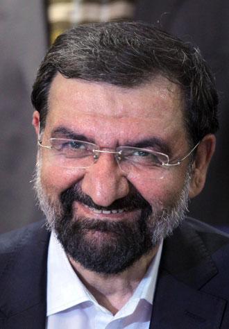 Mohsen Rezaee.(AFP Photo / DSK)