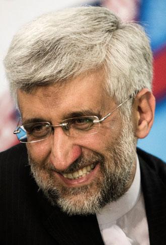 Saeed Jalili.(AFP Photo / DSK)