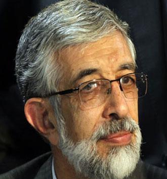 Gholam Ali Haddad-Adeli.(AFP Photo / DSK)