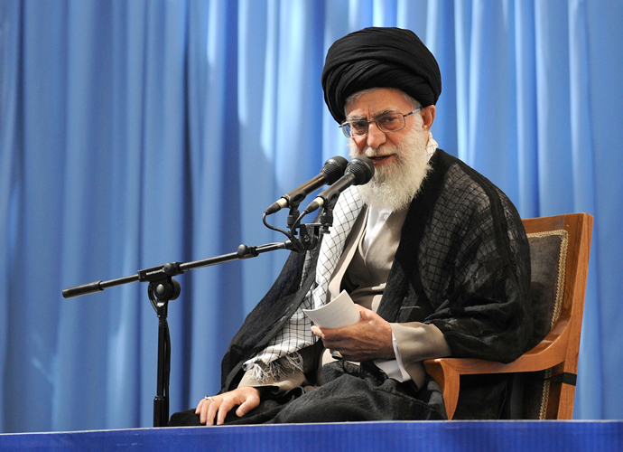 Ayatollah Ali Khamenei (AFP Photo / HO / leader.ir)