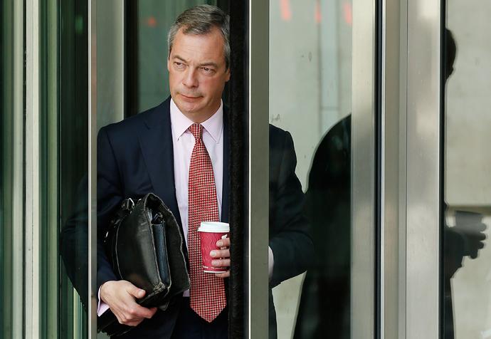 Nigel Farage (Reuters / Olivia Harris)