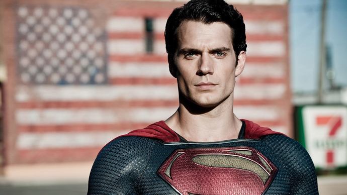 The 'Man of Steel' poster photo