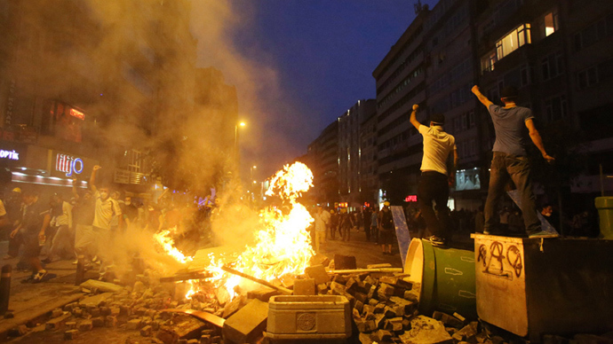 Garbage and gas: Inside Turkey's protest