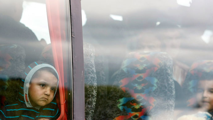 Romanians immigrants in Belfast.(Reuters / Cathal McNaughton)