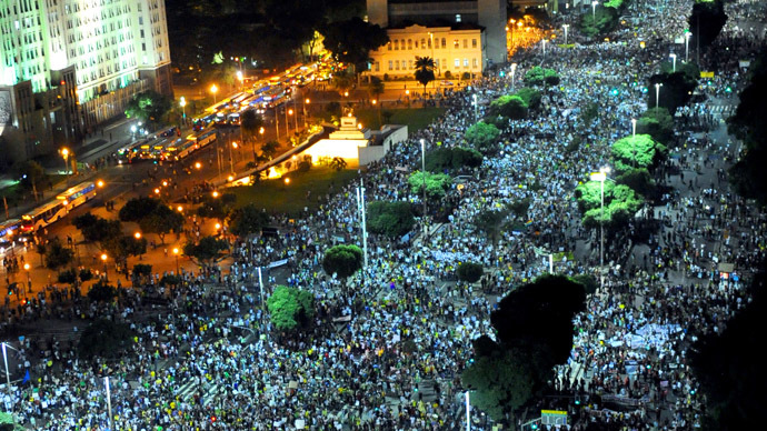 Brazil Protests: New signs of 'LatAm Spring'?