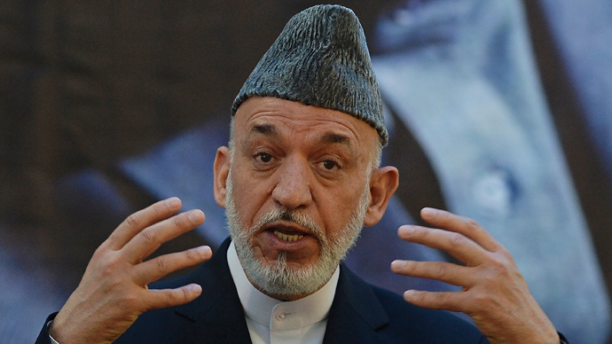Karzai would be 'wise to leave with US forces' before Taliban retakes Afghanistan