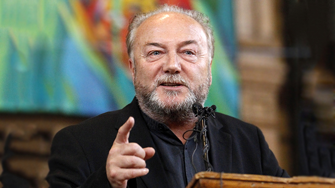George Galloway (Reuters / Mike Cassese)