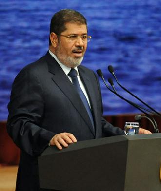 Mohamed Morsi (AFP Photo / Egyptian presidency)