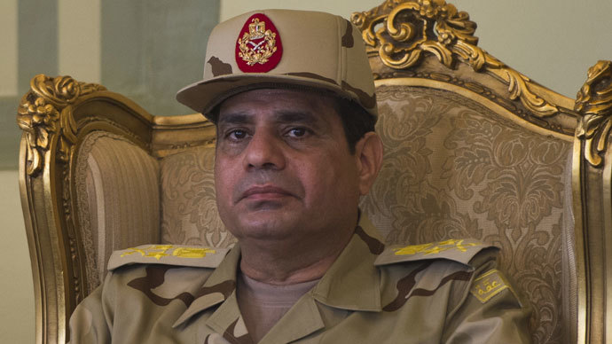 Egyptian Defence Minister Abdelfatah al-Sisi.(AFP Photo / Khaled Desouki)