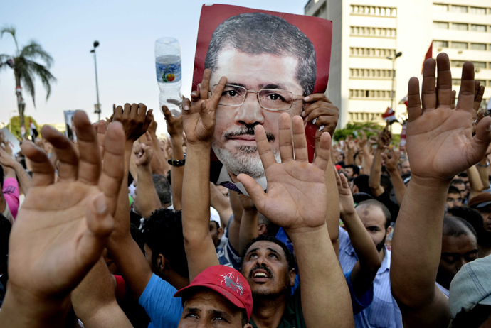 AFP Photo / Mohamed El-Shahed
