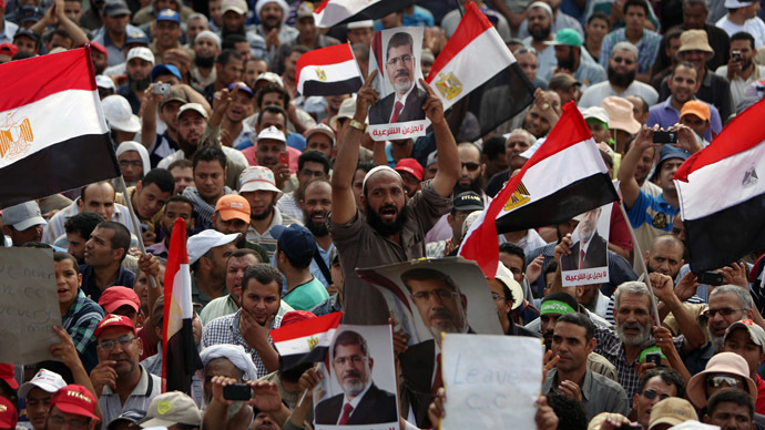 It is Saudi-backed military coup in Egypt, Obama just dragging his heels over it