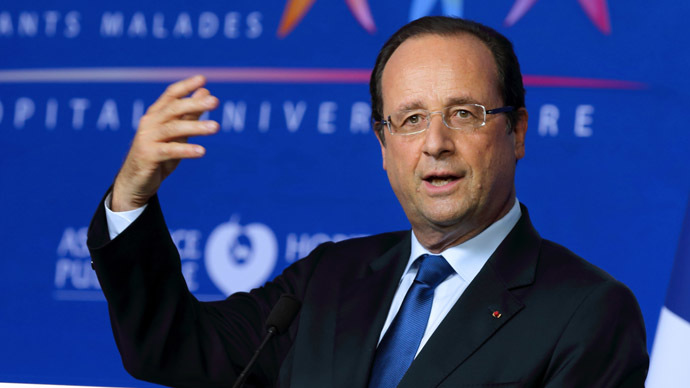 French President Francois Hollande (AFP Photo/Philippe Wojazer)