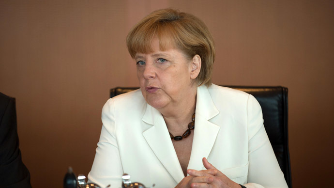 Chancellor Angela Merkel (AFP Photo/Johannes Eisele)