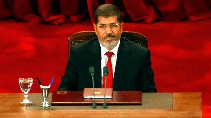 Mohamed Morsi (AFP Photo / Ahmad Abdul Fatah)