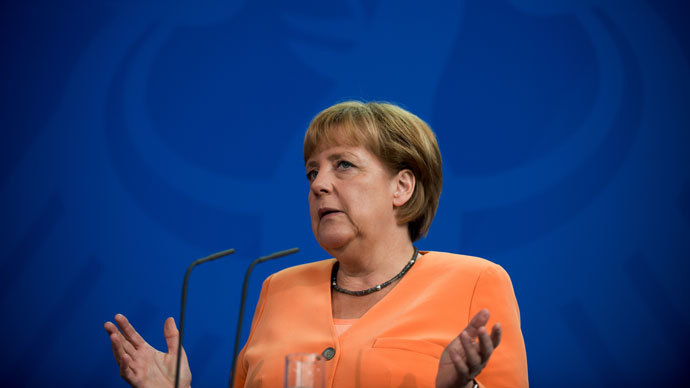 German Chancellor Angela Merkel.(AFP Photo / Johannes Eisele)