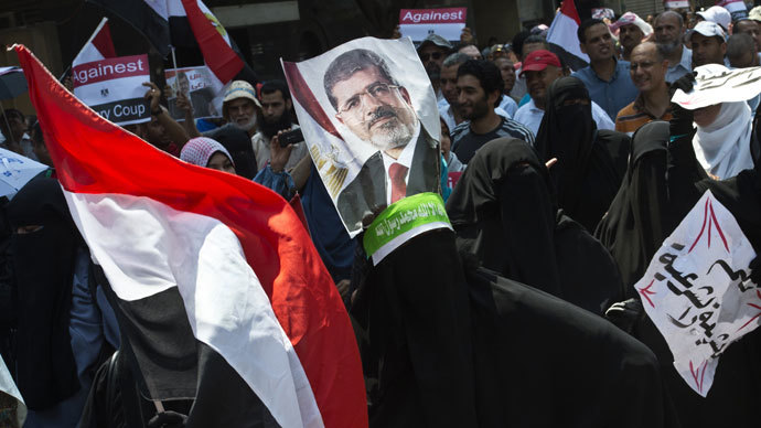Son of Morsi to RT: I fear for my father's life