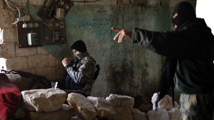 Growing threat of radical rebels infiltrating ranks of Syrian rebels