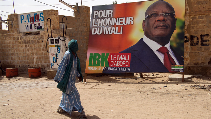 Foreign actors promoting Mali election credibility in spite of ongoing turmoil