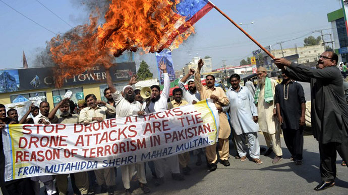 Myth broken that drones strike at the heart of terrorists in Pakistan