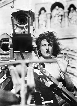 German director Leni Riefenstahl (AFP Photo)