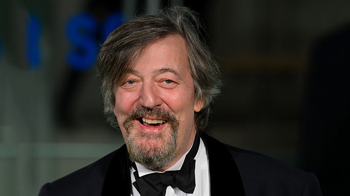 Stephen Fry knows a thing or 2 about propaganda