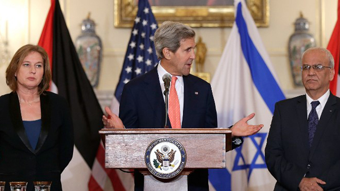 John Kerry's Israeli-Palestinian talks are a cover for aggression and annexation