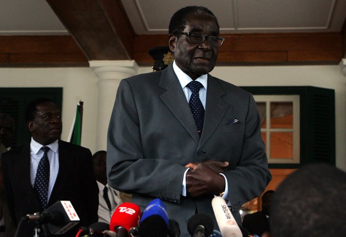 Zimbabwe's President Robert Mugabe (AFP Photo)