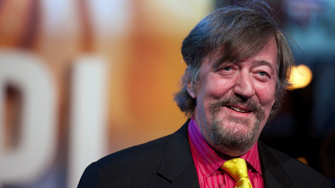 British actor Stephen Fry.(AFP Photo / Andrew Cowie)
