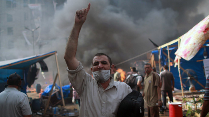 Violence no tool to solve Egyptian divide