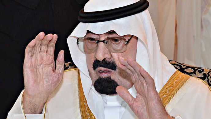 Saudi's King Abdullah (AFP Photo/SPA)
