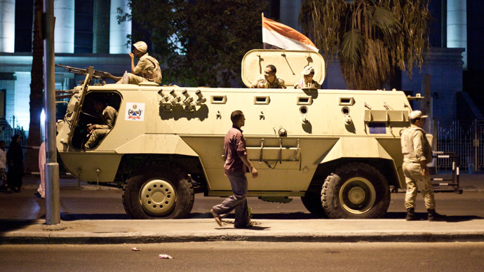 Obama's hands tied over Egypt military aid cuts