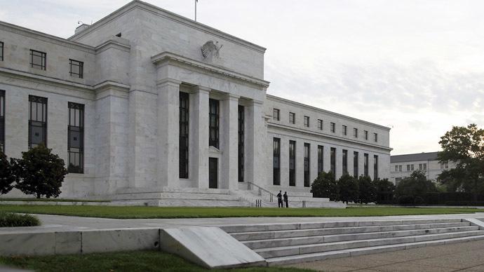 El edificio de la Reserva Federal de los EE.UU. en Washington