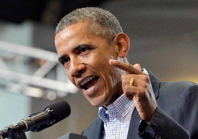 Barack Obama (AFP Photo / Jewel Samad)
