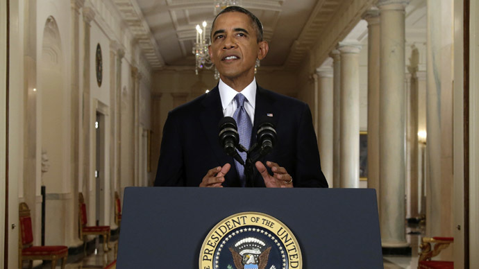 Obama's Syria address reveals 'diplomatic chaos' in the US