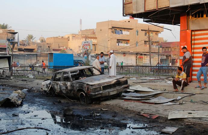 Iraq, Baghdat (Reuters / Ahmed Saad)
