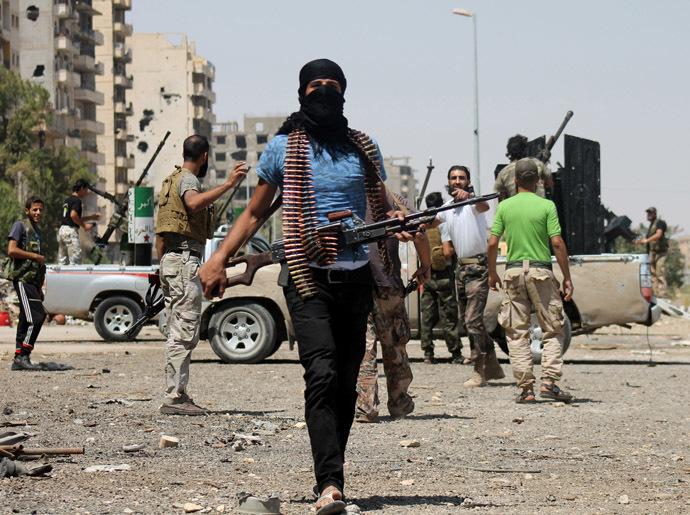 Syrian rebels (AFP Photo/Abo Shuja)