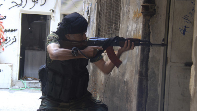 'Syria infiltrated by groups with CIA links'