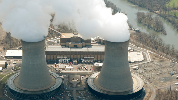 An aerial view of the Limerick Generating Station, a nuclear power plant in Pottstown, Pennsylvania (AFP Photo / Stan Honda)