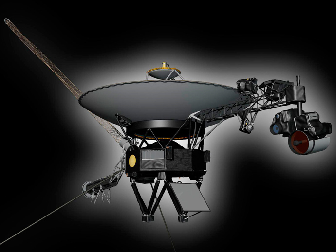 Artist's concept shows NASA's Voyager 1 spacecraft (Reuters / NASA / JPL-Caltech / Handout via Reuters)