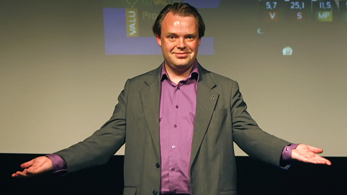 Pirate Party founder Rick Falkvinge will answer your questions at Google hangout
