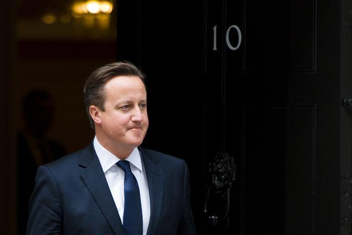 British Prime Minister David Cameron (AFP Photo/Leon Neal)