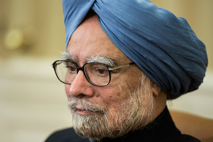 Indian Prime Minister Manmohan Singh (AFP Photo / Brendan Smialowski)