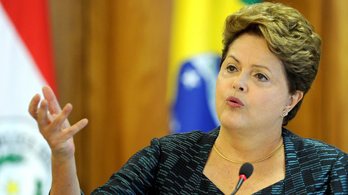 Snub on the US makes Rousseff the favorite again for re-election in Brazil