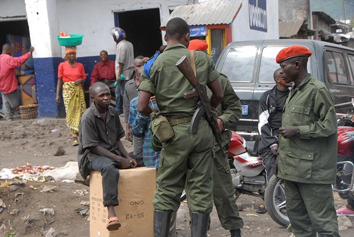 DRC, Goma, Congo, Street (Photo by Andre Vltchek)