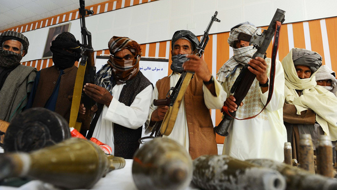 'US will have to talk to Taliban'