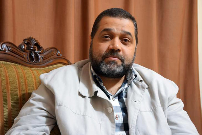 Hamas' representative in Lebanon Osama Hamdan (Photo by Nadezhda Kevorkova)