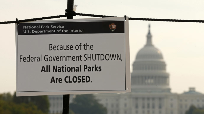 Shutdown of US govt & 'debt default': Dress rehearsal for privatization of federal state system?