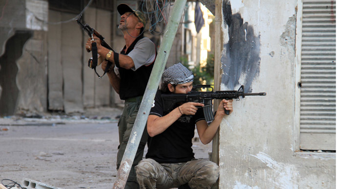 Ready to detonate: Saudi-backed rebels strap bombs to Geneva-2 talks