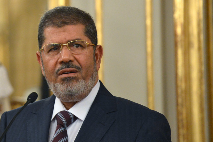 Mohamed Morsi (AFP Photo)
